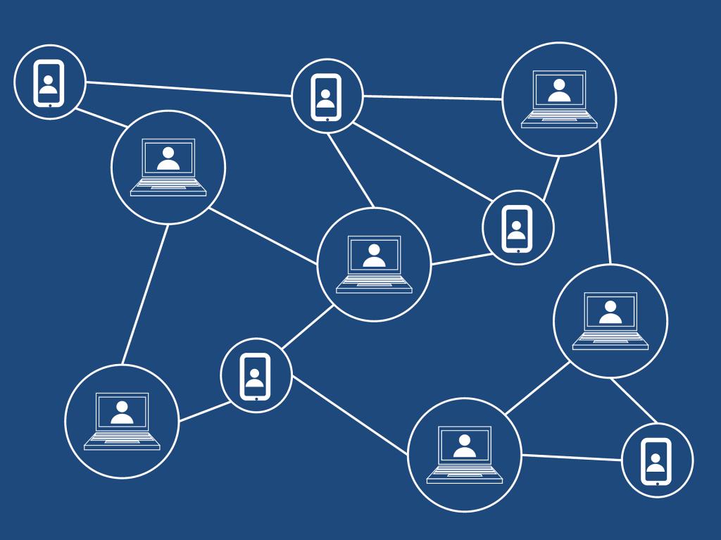 blockchain gevisualiseerd