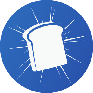 Toast Wallet Logo - Mobile en Desktop XRP wallet