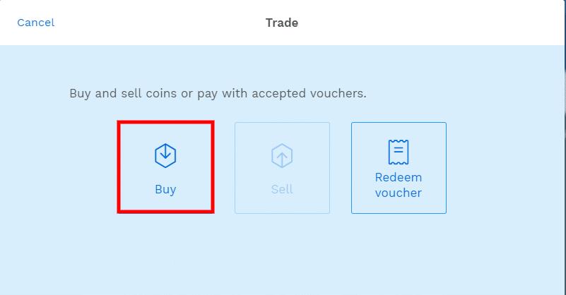 Stappenplan kopen en verkopen op Bitpanda: trade