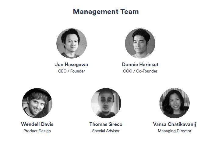 OmiseGO management team